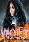 """Portada del libro """"Violet y las cuatro espadas imperiales"""""""