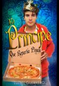 """Portada del libro """"""""El Príncipe que repartía Pizzas"""""""""""