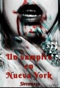 """Portada del libro """"Un Vampiro en Nueva York"""""""