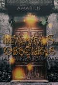 """Portada del libro """"Llamas Obscuras: Las Puertas Doradas"""""""