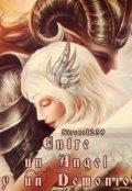 """Portada del libro """"Entre un Angel y un Demonio"""""""