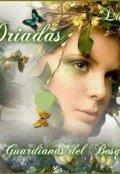 """Portada del libro """"DrÍadas - Guardianas de los Bosques """""""