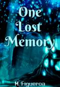"""Portada del libro """"One lost memory"""""""
