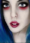 """Обкладинка книги """"Дівчина із блакитним волоссям"""""""