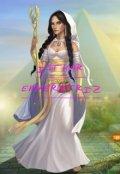 """Portada del libro """"La Leyenda de Isthar #2. Isthar Emperatriz"""""""