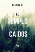 """Portada del libro """"El templo de los caídos."""""""