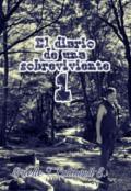 """Portada del libro """"El Diario de una Sobreviviente -Parte 1"""""""