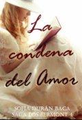 """Portada del libro """"La condena del Amor '' El Hombre siniestro''"""""""