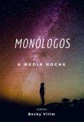 """Portada del libro """"Monólogos a Media Noche"""""""