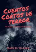 """Portada del libro """"Cuentos cortos de terror"""""""
