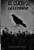 """Portada del libro """"El cuervo : La leyenda"""""""