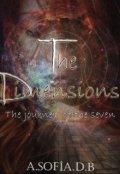 """Portada del libro """"The Dimensions (libro 2) """"The journey of the seven"""""""""""