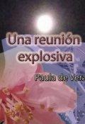 """Portada del libro """"Una reunión explosiva (relato Cifi - 5 capítulos)"""""""
