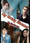 """Portada del libro """"My Summer Crazy"""""""