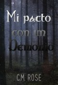 """Portada del libro """"Mi pacto con un demonio"""""""