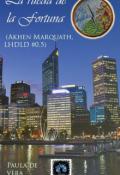 """Portada del libro """" La rueda de la fortuna (akhen Marquath, Lhdld #0.5)"""""""