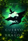 """Portada del libro """"""""El cuervo y el dragón"""""""""""