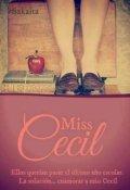 "Portada del libro ""Miss Cecil"""