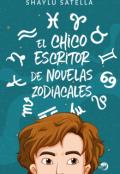 """Portada del libro """"El chico escritor de novelas zodiacales """""""