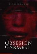 """Portada del libro """"Obsesión Carmesí """""""