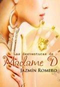 """Portada del libro """"Las desventuras de Madame D"""""""