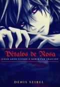 """Portada del libro """"Pétalos de Rosas"""""""