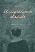 """Portada del libro """"Un ingrediente distinto"""""""