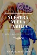 """Portada del libro """"Nuestra nueva familia"""""""