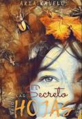 """Portada del libro """"El secreto bajo las hojas"""""""