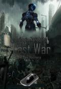 "Portada del libro ""Ultima Guerra"""