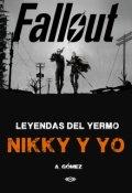 """Portada del libro """"Leyendas del Yermo - Nikky y yo"""""""