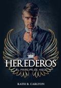 """Portada del libro """"Herederos: El PrÍncipe De Hielo"""""""