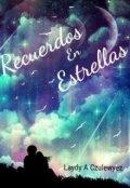 """Portada del libro """"Recuerdos En Estrellas"""""""