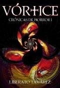 """Portada del libro """"Vórtice: Crónicas de Horror"""""""