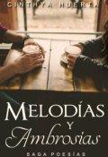 """Portada del libro """"Melodías y Ambrosías [saga Poesías 2]"""""""