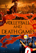 "Book cover ""Volleyball and Death Games"""