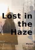 """Book cover """"Lost In The Haze"""""""