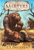 """Book cover """"Martyrs: Legends of the Great Savanna"""""""