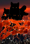 "Book cover ""The school of hunters"""