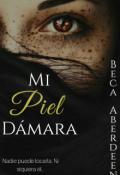 """Portada del libro """"Mi Piel DÁmara"""""""
