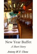 """Book cover """"New Year Buffet"""""""