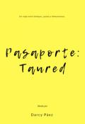 """Portada del libro """"Pasaporte: Taured"""""""