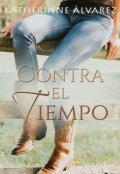 """Portada del libro """"Contra el tiempo © """""""