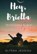 """Portada del libro """"Hey, Briella ©"""""""
