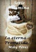 """Portada del libro """"La Eterna Prometida. Saga Salamina Nº 5"""""""