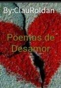 """Portada del libro """"Poemas de desamor """""""