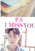 """Portada del libro """"P.s: I miss you"""""""