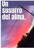 "Portada del libro ""Un Susurro Del Alma"""
