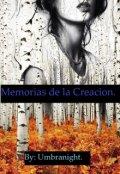 """Portada del libro """"Memorias de la Creación"""""""