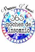 """Portada del libro """"365 noches de insomnio"""""""